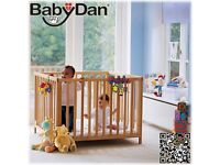 BabyDan PlayPen Natural and Mat
