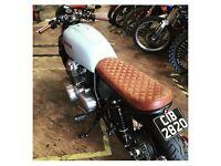 Honda CB750 Brat bike/cafe racer