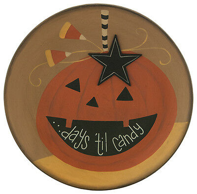 Primitive Plate- Candy Countdown Plate #32991
