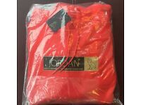 SOLD OUT OVO DRAKE JORDAN NIKE RED HOODIE JACKET FLEECE SIZE LARGE L
