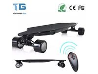 Trigger Double Drive Electric Skateboard With Wireless Remote Control 500W