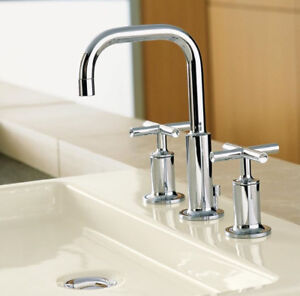 BNIB Stunning Kohler Purist Bathroom Faucet - Retails for $750+