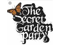 Secret garden party adult weekend ticket