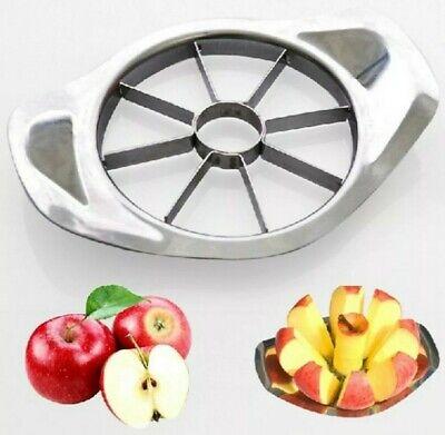 Apple Slicer Corer Wedger Pear Fruit Veg Cutter Kitchen Tool Stainless Steel