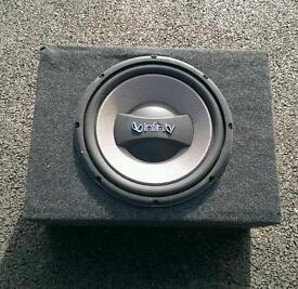 Infinity kappa 12 inch sub in box