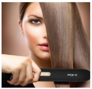 New Flat Iron Touch Screen Ceramic Hair Straightener tmp control