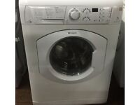 47 Hotpoint WDF740 7kg 1400Spin White Sensor Drying Washer/Dryer 1YEAR WARRANTY FREE DEL N FIT
