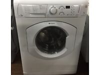 48 Hotpoint WDF740 7kg 1400Spin White Sensor Drying Washer/Dryer 1YEAR WARRANTY FREE DEL N FIT