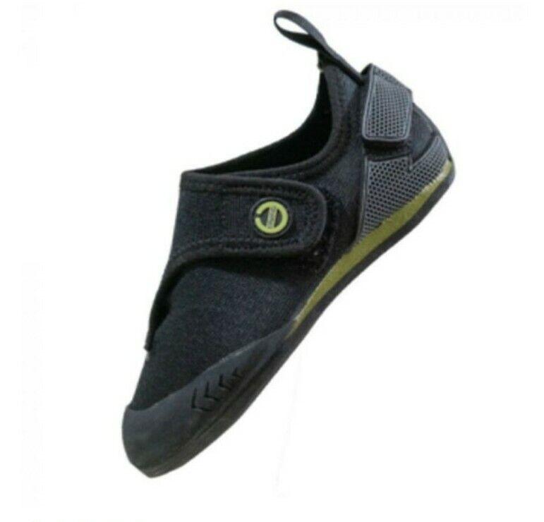 Butora Sz 3 Kids Climbing Shoes Brave Black Knit
