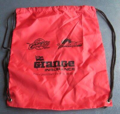 3232c318 Cleveland Cavaliers/Lake Erie Monsters Vinyl Drawstring Bag--Grange  Insurance. $. 3.99. Buy It Now