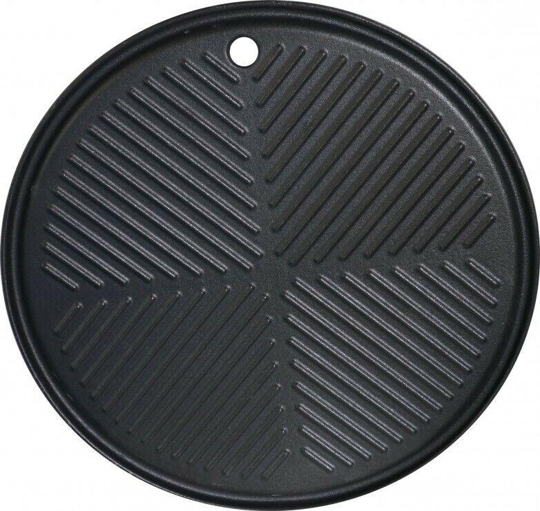 Maxxus Runde Grillplatte Grillrost Gusseisen Gasgrill für BBQ Chief 9.0 und 12.0