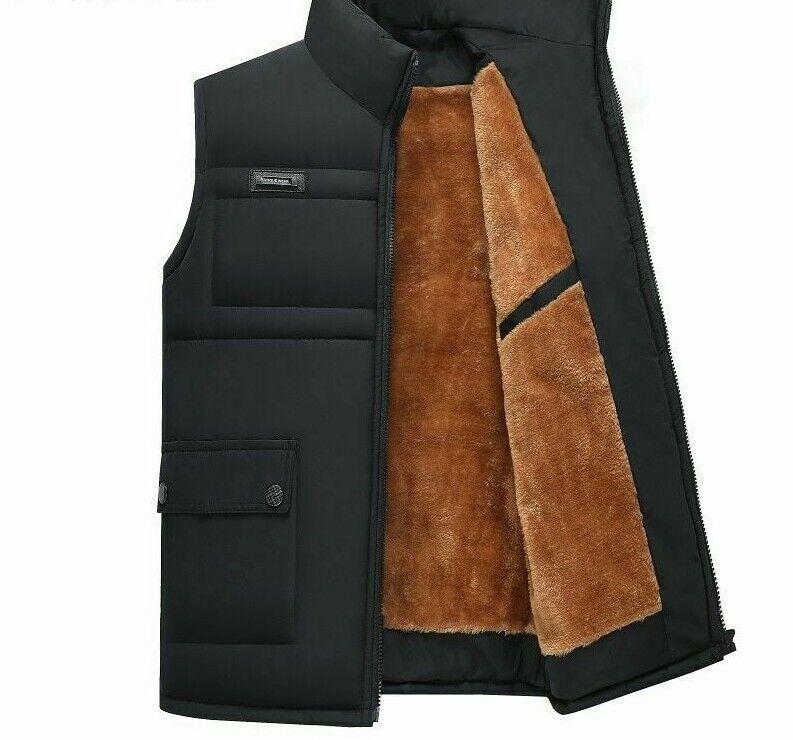 warmer clothing zipper men s overcoat vest