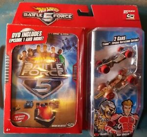 Hot Wheels Battle Force 5 DVD Kalus Vert Wheler 2 Pack