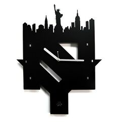 New York City Large Wall Clock Modern Home Decor Art Design Unique Gift Idea
