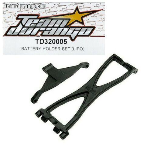 RC Car Team Durango TD320005 LiPO Battery Holder Set DEX410 DEX410R Discontinued