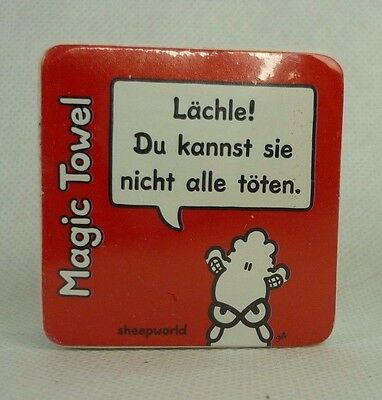 "Sheepworld 42673 Zauberhandtuch ""Lächle!"""