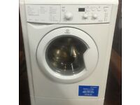 21 Indesit IWDD7143 7kg 1400Spin White LCD Washer/Dryer 1YEAR WARRANTY FREE DEL N FIT