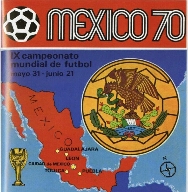 Mexico 1970 Panini Fifa World Cup -in Pdf- Soccer