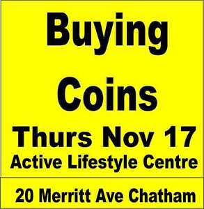 ThursNov17 ActiveLifestyleCtrBuying All COINS,CANADA,USA,World,
