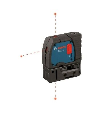 Bosch GPL 3 S 100ft 3-point Self-leveling Alignment Laser (E10)