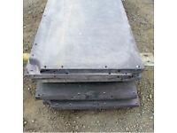 Reclaimed snooker table slate