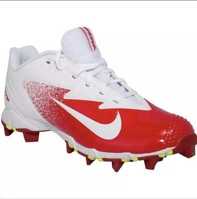 d5e8b7d8d Size12 Nike Vapor Ultrafly Keystone Men Baseball Cleats Univ Red Whi  852688-816