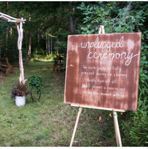lot of enchanted forest/ rustic wedding decorations