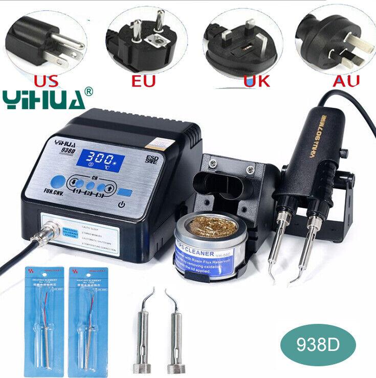 YIHUA 938D Tweezer Soldering Station SMD Rework Desoldering equipment 110V 220V