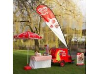 Ice Cream Cart Available For Birthday partys, Weddings, Christenings, etc.