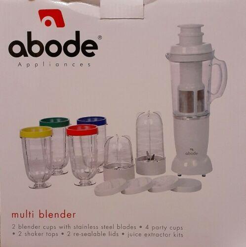MULTI BLENDER,2 BLENDER CUPS,STAINLESS STEEL BLADES,4 PARTY