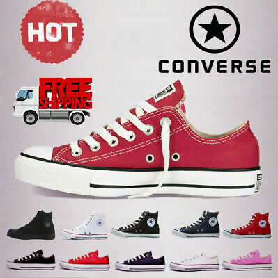 Converse All Star Chuck Taylor Unisex Mens Womens Hi Lo Tops Trainers Shoes UK