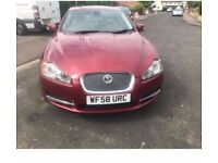 2008 JAGUAR XF 2.7 LUXURY, 146000 MILES, 2.7 Diesel, 8 SPEED AUTOMATIC, RED, FULL SERVICE HISTORY