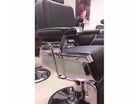New Boxed Heavy Use Hydraulic Barber Chairs uk for sale