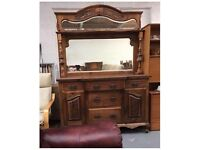 ** ANTIQUE EDWARDIAN DRESSER IN GOOD CONDITION - CAN DELIVER **
