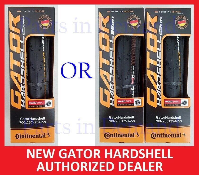 NEW 1 or 2 Continental GATOR HARDSHELL Duraskin GATORSKIN Ti
