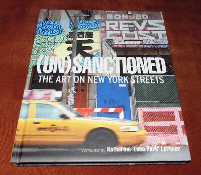 "Graffiti Buch / Magazine ""(UN)SANCTIONED"" Streetart Urban Art Montana Molotow"