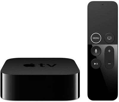 Apple TV 5th Generation 4K 32GB HDR HD Media Streamer - A1842 - MQD22B/A