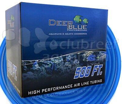 500' Deep Blue Silicone Aquarium/hydroponic Air Line Tubi...