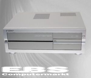 HTPC Digitainer Medion Micro-ATX Multimedia Desktop Gehäuse, Cardreader B-Ware
