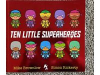 Brand new. Ten Little Superheroes.