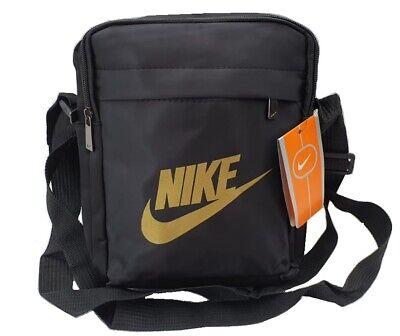 Brand New Gold Design Nike Men Crossbody Shoulder Messenger bag, Purse, Handbag