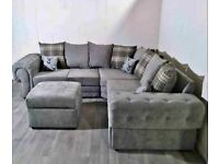 SALE ON ALL NEW SHAFFINA CHESTERFIELD CONER & 3+2 SEATER SOFA SET AVILABLE IN STOCK