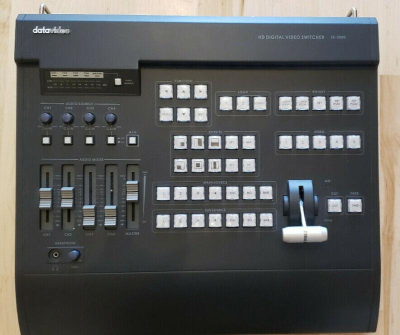 DATA VIDEO SE-2000 HD Digital Video Switcher with HD-SDI mixer