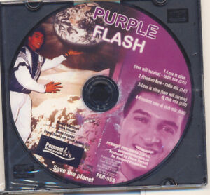 PURPLE FLASH - Freedom Now & Love Is Alive   4 song  CD (new)