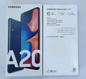 32gb Brand New Samsung Galaxy A20 Duos (Dual Sim) Unlocked Open To All