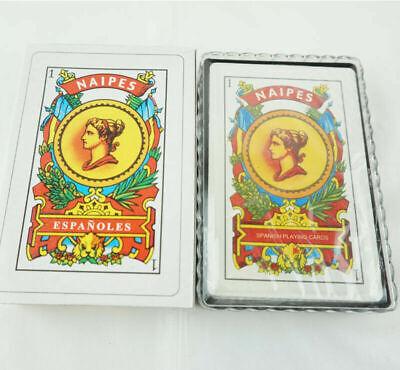 1 Deck Spanish Playing Cards Baraja Española 50 Cards Naipes Tarot New Cartas L