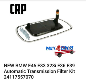Transmission filter with gaskets and bolts