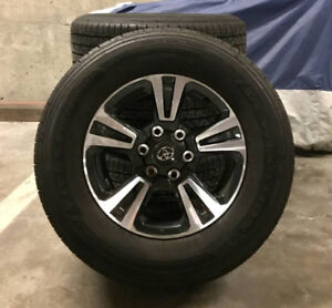 """2018 Tacoma 17"""" rims and tires - LIKE NEW - $1500 (Vancouver)"""
