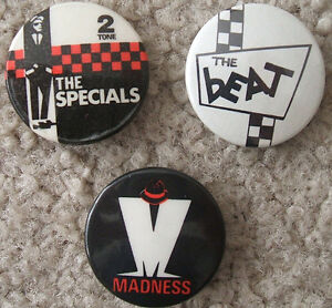 New Wave and punk badges