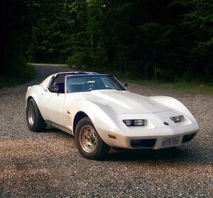 1975 corvette stingray T top appraised at 16k